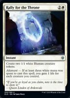 MTG x4 Rally for the Throne Throne of Eldraine Uncommon NM/M