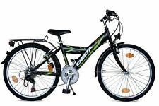 "Kinderfahrrad Fahrrad 24"" Zoll Shimano 18 Gang schwarz Straßenzulassung StVO Alu"