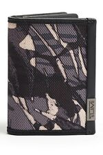 NWT TUMI ALPHA GUSSETED CARD CASE BALLISTIC NYLON WALLET GRAY HIGHLANDS