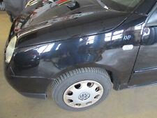 Kotflügel links VW Lupo UNISCHWARZ L041 schwarz