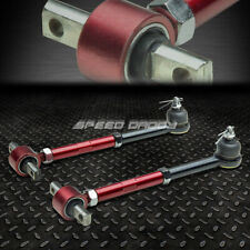 FOR 90-97 ACCORD CB/CD RED ADJUSTABLE BALL JOINT REAR SUSPENSION CAMBER KITS