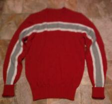 Vintage Rare Girls Orlon Acrylic Cheerleader Uniform Sweater Top Sz 34 USA EUC