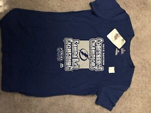 Women's 2015 Tampa Bay Lightning Eastern Conference Champions T-Shirt ~ L