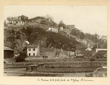 France, Le terreau de la petite porte et l'église St-Lazare, ca.1900, vinta