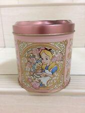 Tokyo Disney Resort Alice in Wonderland Sweet Cookie Jar Box. Very Rare