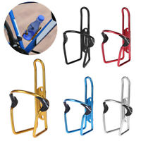 Aluminum MTB Bicycle Bike Cycling Water Bottle Cage Drink Rack Holder Bracket
