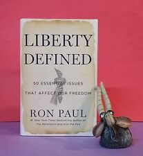 R Paul: Liberty Defined: 50 Essential Issues That Affect Our Freedom/US politics