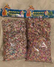2X Confetti Paper Multicolor Mexican 14 oz Each Bag,Party Supplies, All Ocasions