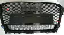 Black Grille RS4 Style Grill For Audi B8.5 A4 S4 2013 13 14 15 16