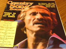 Marty Robbins  Covers Country Song Roundup Magazine August 1984 Reba McEntire