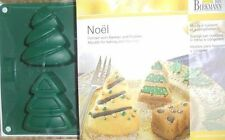 Birkmann NOEL Cristmas Tree Molds for Baking Cakes or Freezing NWT Silicone