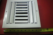 """White Air Vent Register Grille 7 5/8"""" x 7 5/8"""" NEW Ceiling Wall"""