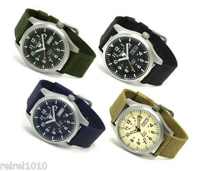 Seiko 5 Sports Military Automatic Watch SNZG07 SNZG09 SNZG11 SNZG15
