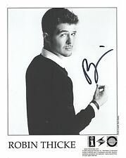 ROBIN THICKE HAND SIGNED 8x10 PHOTO+COA       HANDSOME+SEXY POP STAR
