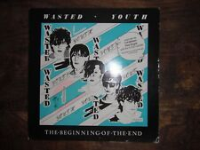 WASTED YOUTH THE BEGINNING OF THE END RARE LP 1982 + INSERT EXC