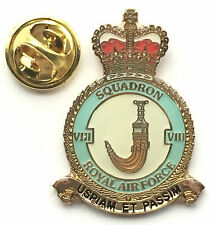 RAF No 8 Squadron Royal Air Force Pin Badge *Official Product*