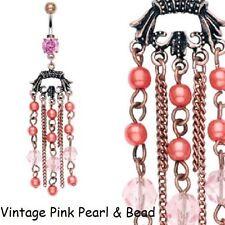 Pearl Navel Piercing Jewellery