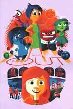 Inside Out Tom Whalen Print #32V2 Fear Variant Cyclops Print Works MINT