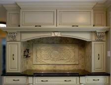 Backsplash kitchen stone wall tiles marble home handmade beige decor Canada