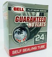 "7064247 Bell Sports 24/"" Self Sealing Standard Valve Bicycle Inner Tube"