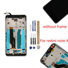 Xiaomi Redmi Note 4/4X Global Version LCD Display Touch Screen Assembly Frame