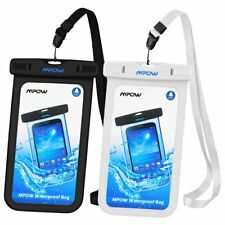 2 Pack MPOW Waterproof Case Underwater Phone Pouch Dry Bag for iPhone