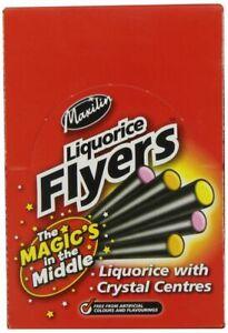 Maxilin Liquorice Sherbet Fondant Flyers Full Box Of 40