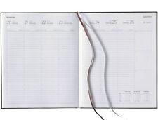 2018 Lediberg Buchkalender Managertimer 1 Woche = 2 Seiten schwarz A4