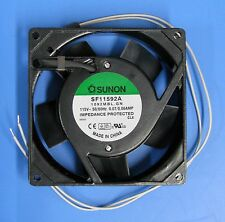 SUNON SF11592A-1092MBL.GN 91.5x91.5x25.5mm 6W 115VAC AC FAN AXIAL