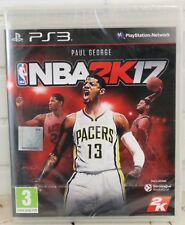 Sony Playstation 3 PS3 NBA2K17 Video Console Game Region 2 New Sealed