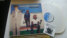 fun boy three waiting the specials w/sticker! SIGNED AUTOGRAPHED band terry hall