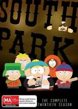 South Park : Season 20 (DVD, 2017, 3-Disc Set)