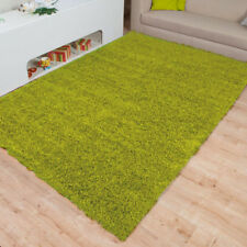 MODERN SMALL X LARGE SOFT PLAIN THICK 5CM SHAGGY BEDROOM LIVING ROOM FLOOR RUGS