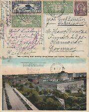 More details for us 1929 graf zeppelin lz 127  round the world c lakehurst nj to friedrichshafen