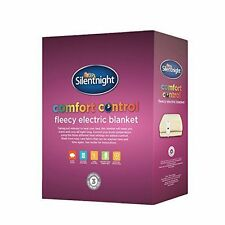 OPENBOX Silentnight Comfort Control Electric Blanket Fleece - King