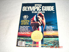 1984 OFFICIAL OLYMPIC GUIDE TO LOS ANGELES        BRAND NEW     Buy 1 get 1 Free