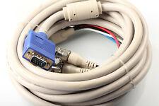 VGA auf BNC Kabel 5m 5x BNC Stecker 15pol HD Stecker  aus Schranklager OVP #1