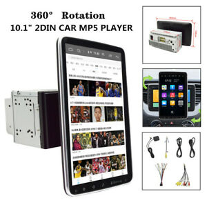 "10.1"" 360° Screen 12V 10A 2DIN Android 9.1 Car Multimedia Radio GPS Navigation"