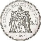 Piece argent 50 francs Hercule années variées