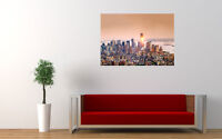 "MANAHATTAN PANORAMA NEW GIANT LARGE ART PRINT POSTER PICTURE WALL 33.1""x23.4"""