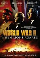 World War II: When Lions Roared - The Emmy-Winning Mini-Series - DVD - GOOD