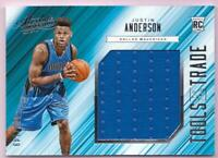 JUSTIN ANDERSON RC 2015-16 ABSOLUTE TOOLS OF THE TRADE JUMBO JERSEY #103/149