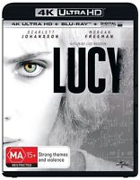 Lucy 4K Ultra HD : NEW UHD Blu-Ray