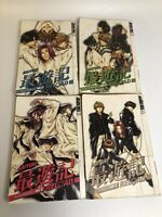 Saiyuki Reload Lot 3,4,6,8 by Kazuya Minekura Tokyopop Manga Book in English