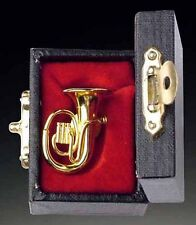 "Gold Brass Tuba Lapel Pin (PGTU)) INSTRUMENT LAPEL PIN TIE TACK 1.25"""