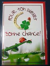 NEUF CARTE POUR UN DEPART + ENVELOPPE !! 10 CARTES ACHETEES = PORT GRATUIT
