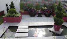 Silver Grey Granite Paving 60x60 - Natural Sawn Patio Stone Slabs Flags -600x600