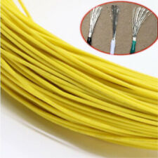 Yellow Equipment Wire DIY Electrical Wire Flexible Cable UL1015 8/10/12~24AWG