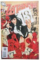 Zatanna 13 VF/NM 9.0 July 2011 AH Adam Hughes Cover DC Comics Paul Dini Magic