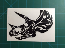 Tribal Triceratops Decal